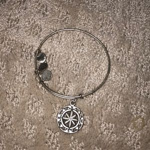 Alex and Ani Compass rose bacelet